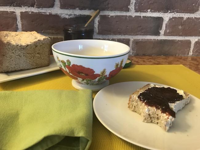 Pain de campagne sans gluten à la farine de souchet