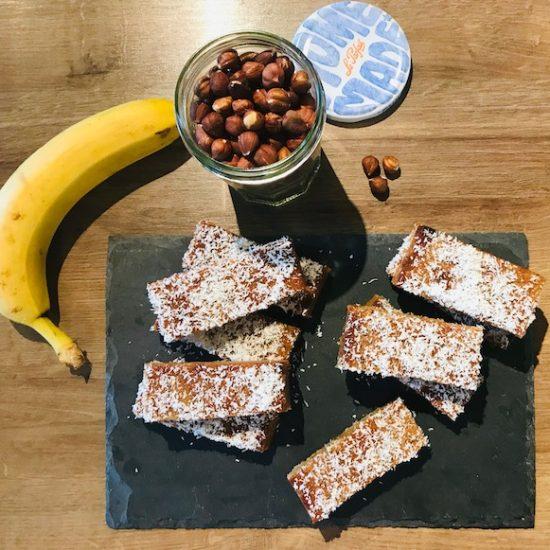 barres de céréales healthy vegan