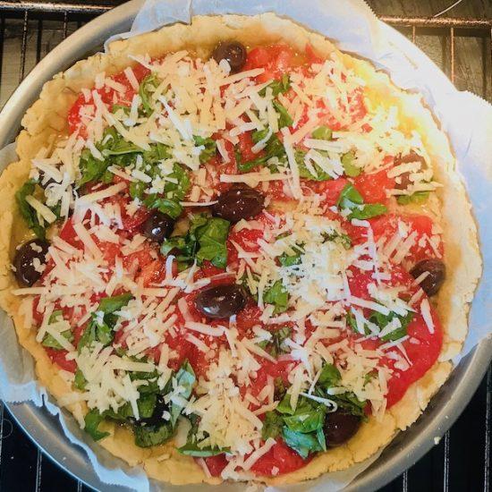 tarte tomate thon sans gluten sans lactose